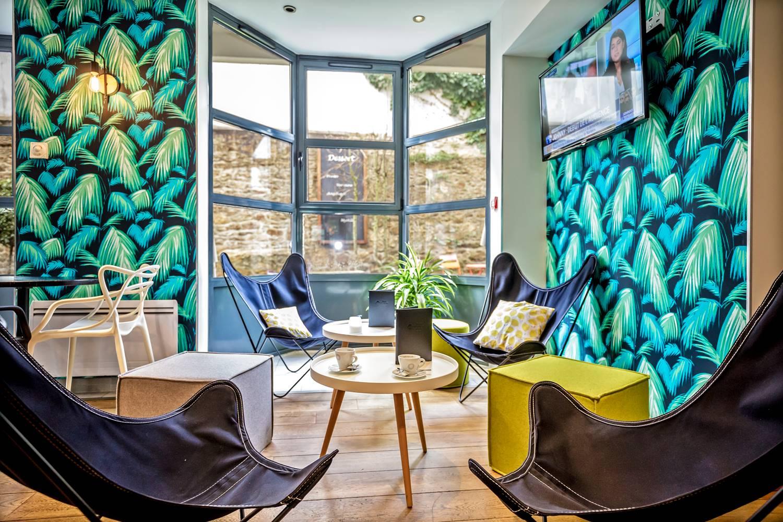 Bar Hôtel BEST WESTERN PLUS Vannes centre-ville Morbihan Bretagne ©