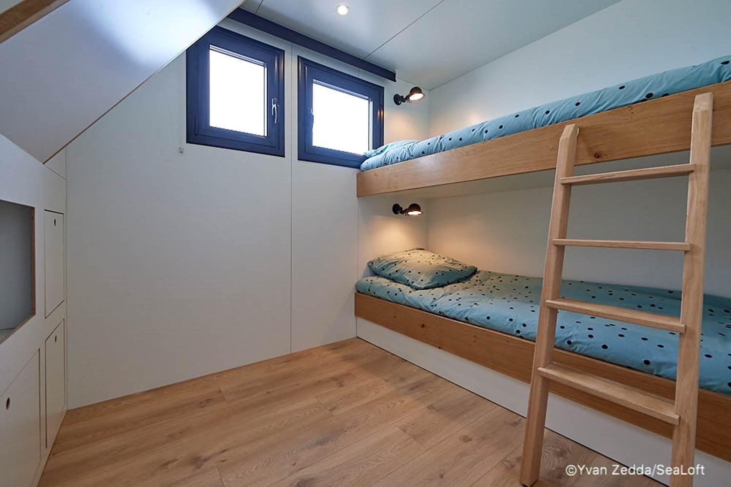 Salle de bain - Lodge boat Lorient ©