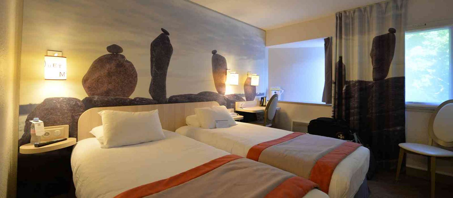 hotel-bestwesternleloch-auray-Morbihan Bretagne Sud-chambre © hotel-bestwesternleloch-auray