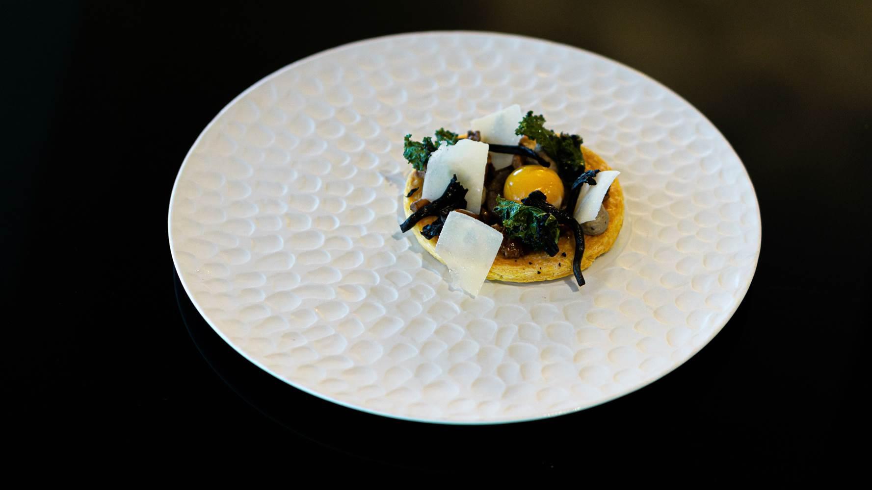 Feuillete d'automne Restaurant L'Eskell Le Diana Hotel et Spa Nuxe Carnac Morbihan Bretagne-Sud ©