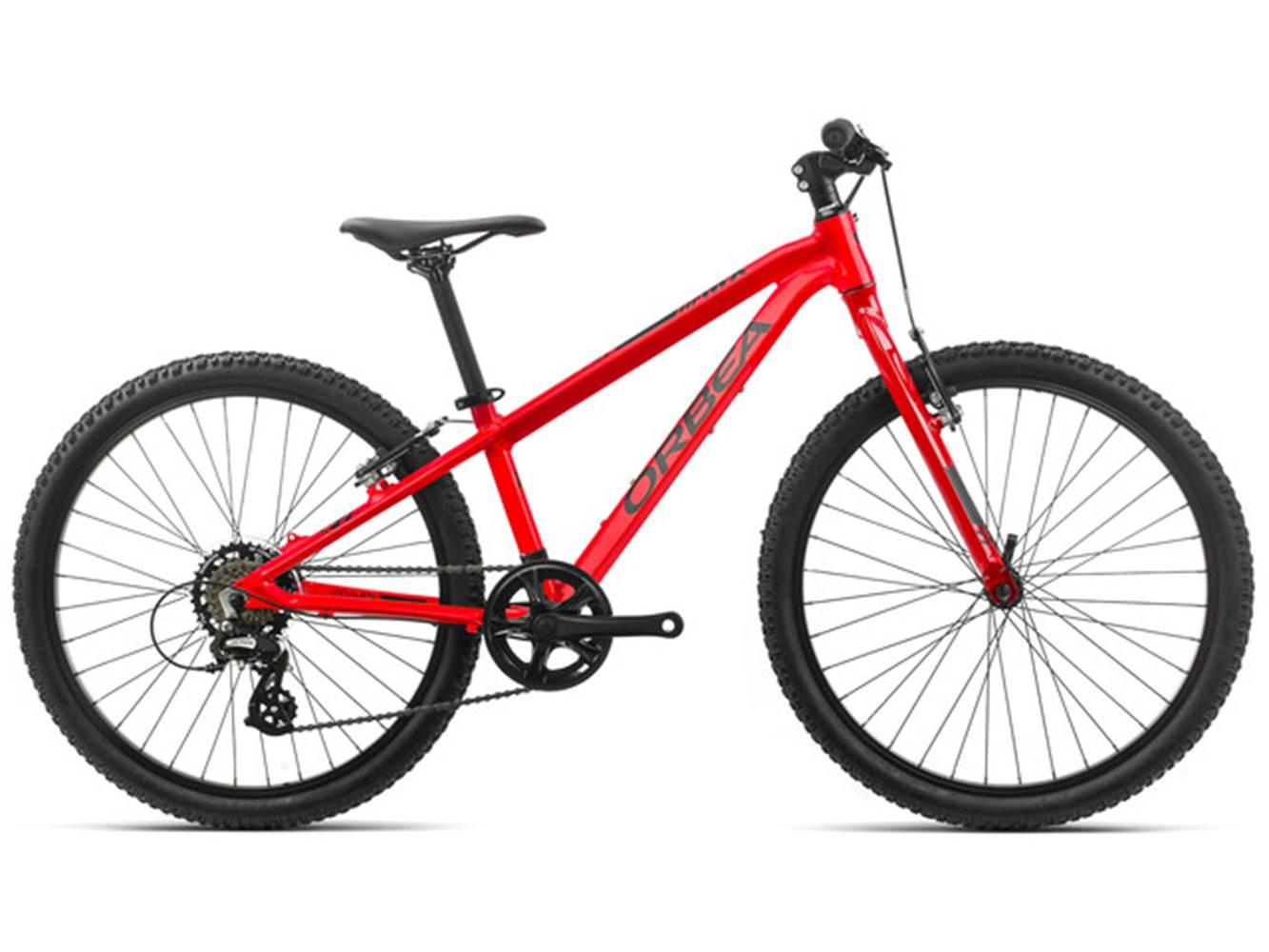 ORBEA MX24 Dirt rouge - vélo pour enfants  entre 130cm-155cm (8 - 12 ans) ©