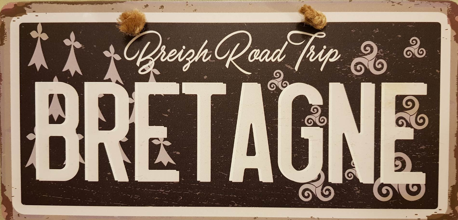 plaque roadtrip breizh ©