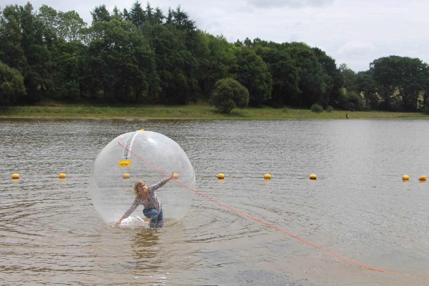 Water bulle Base de loisirs du Moulin Neuf - Morbihan Bretagne Sud ©