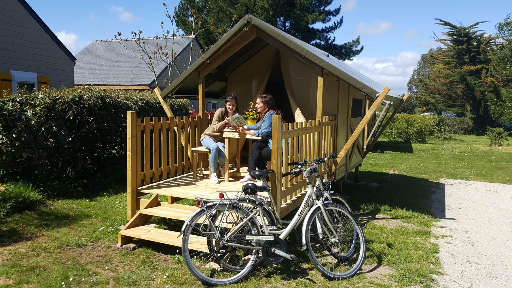 Tente Baroudeur Camping Le Tindio ©