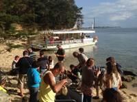 Croisière Ty Punch sur le Golfe du Morbihan avec Mélanie Chouan