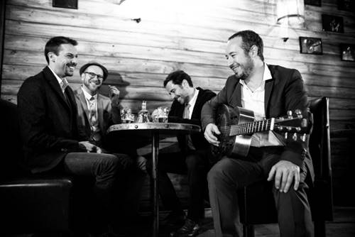 Gadjo and Co: le quartet de jazz