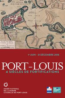 Exposition 'Port-Louis: 4 siècles de fortifications'
