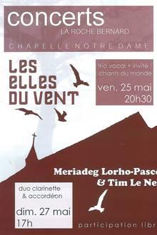 Concerts à la Chapelle Notre Dame