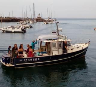 Promenade et pêche en mer Tours d'Iles