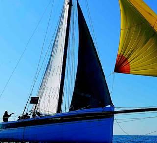 Balade en mer sur un voilier du patrimoine