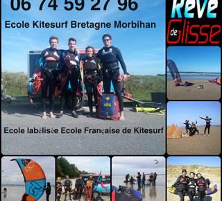 Ecole de kitesurf Rêve de Glisse