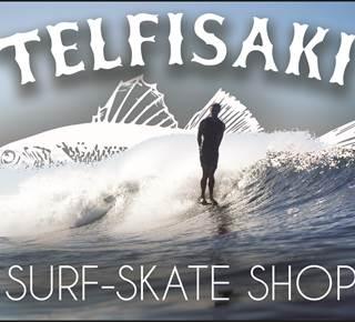 Vente et location surf Telfisaki : Telfisaki Surf - Skate shop