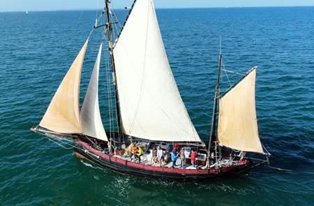Leenan Head - Sortie en voilier traditionnel
