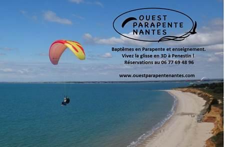 Ouest Parapente Nantes - Baptême et cours de parapente