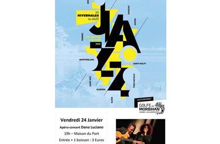 Apéro-Concert Dana Luciano - Les Hivernales du Jazz