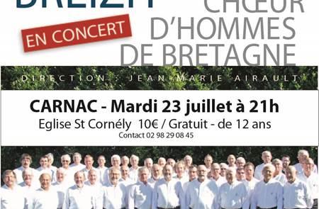 Concert: Choeur d'hommes de Bretagne