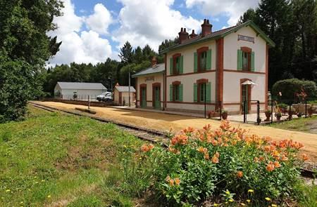 Napoléon Express : Train touristique de Camors à Pontivy