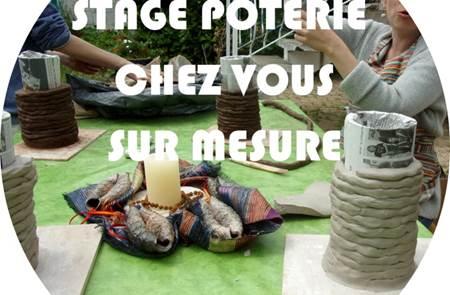 Stage poterie à domicile - Héron Céramique