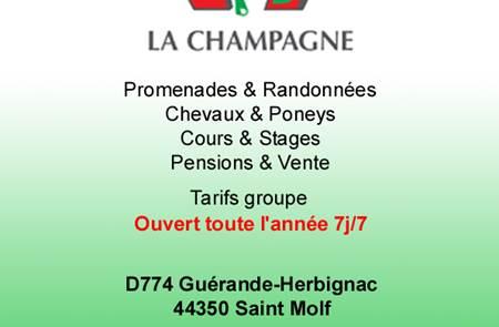 Centre équestre La Champagne