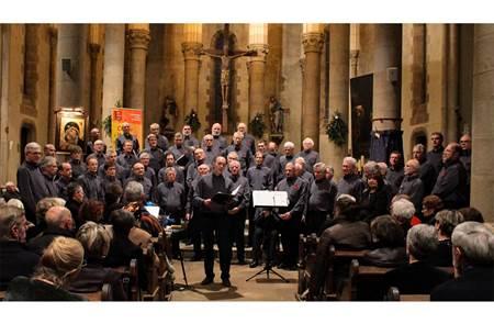 Concert du Choeur d'Hommes de Vannes