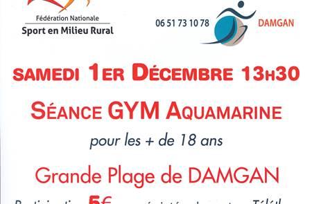 Séance Gym Aquamarine