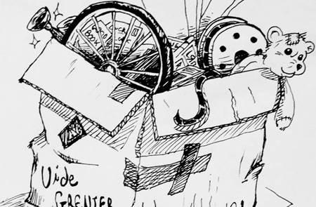 Vide grenier à La Chapelle Gaceline